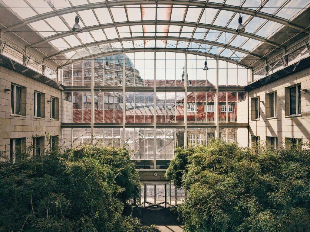 Fenster Universität Simon von Utrecht Hamburg Elbville