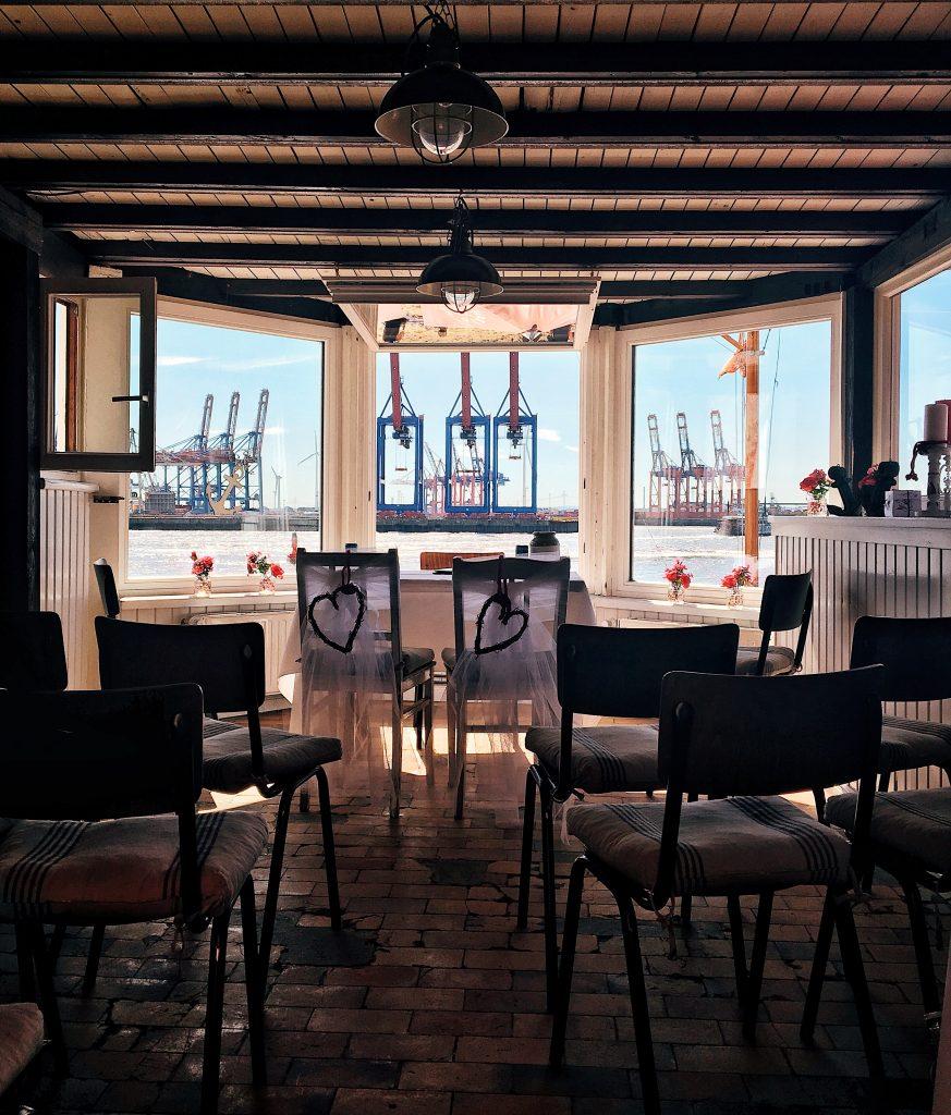Hamburgs schönste Fenster: am Elbstrand, Strandperle, Elbville Hamburg Companion