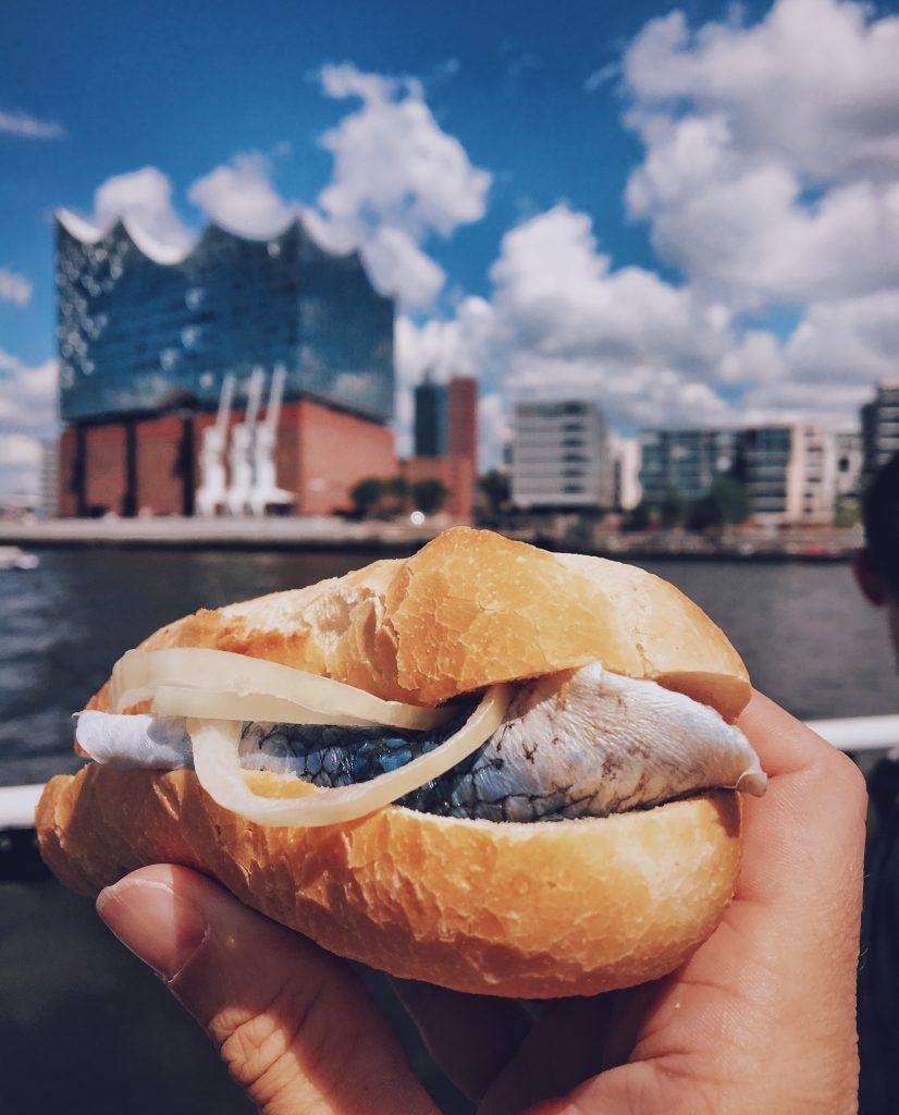 Fischbrötchen: Hamburg Weekender Elbville Tipps