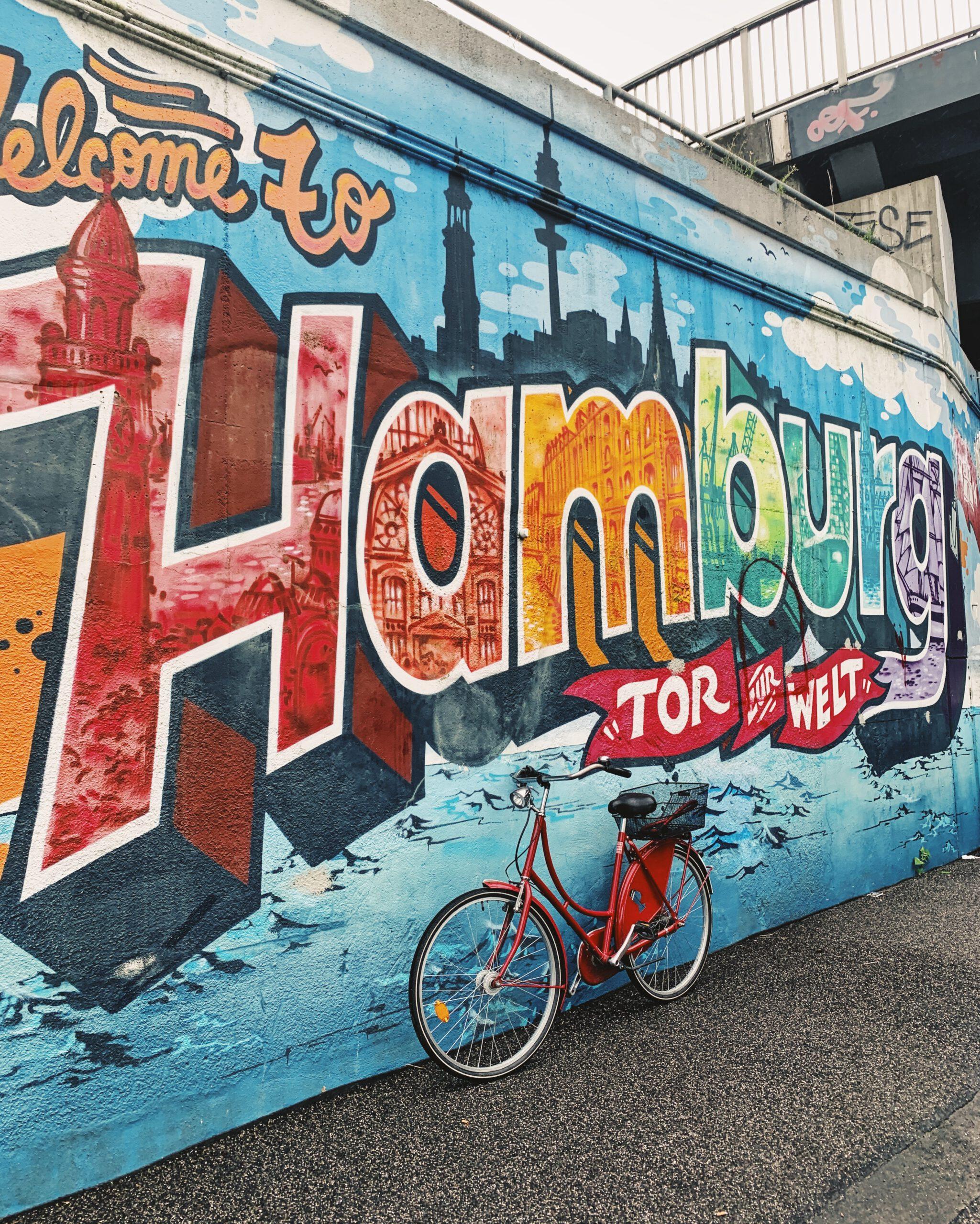 Argentinienbrücke Mural Streetart Graffiti Hamburg