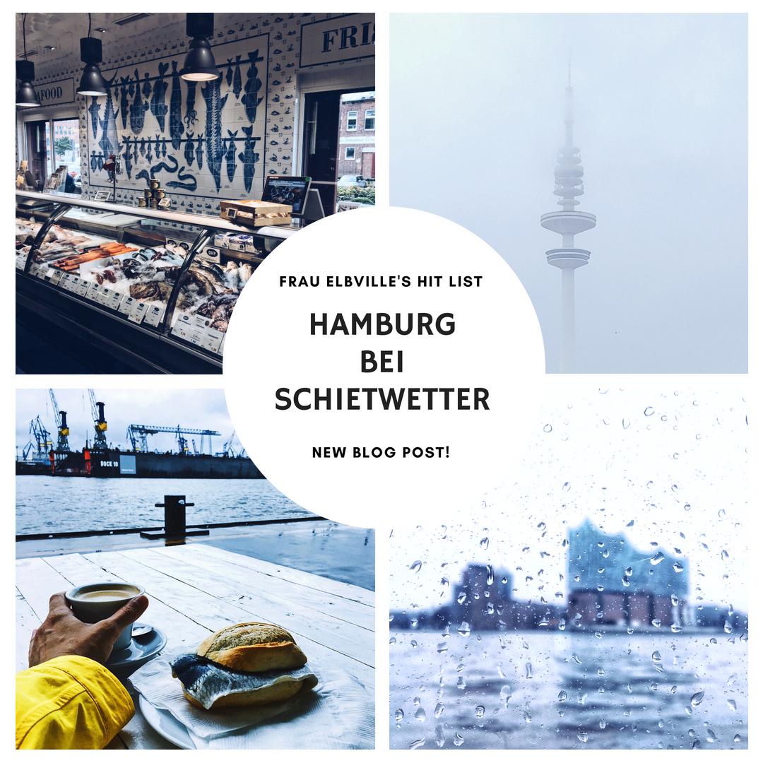 Hamburg im Regen: Frau Elbvilles Tipps auf Hamburg Companion