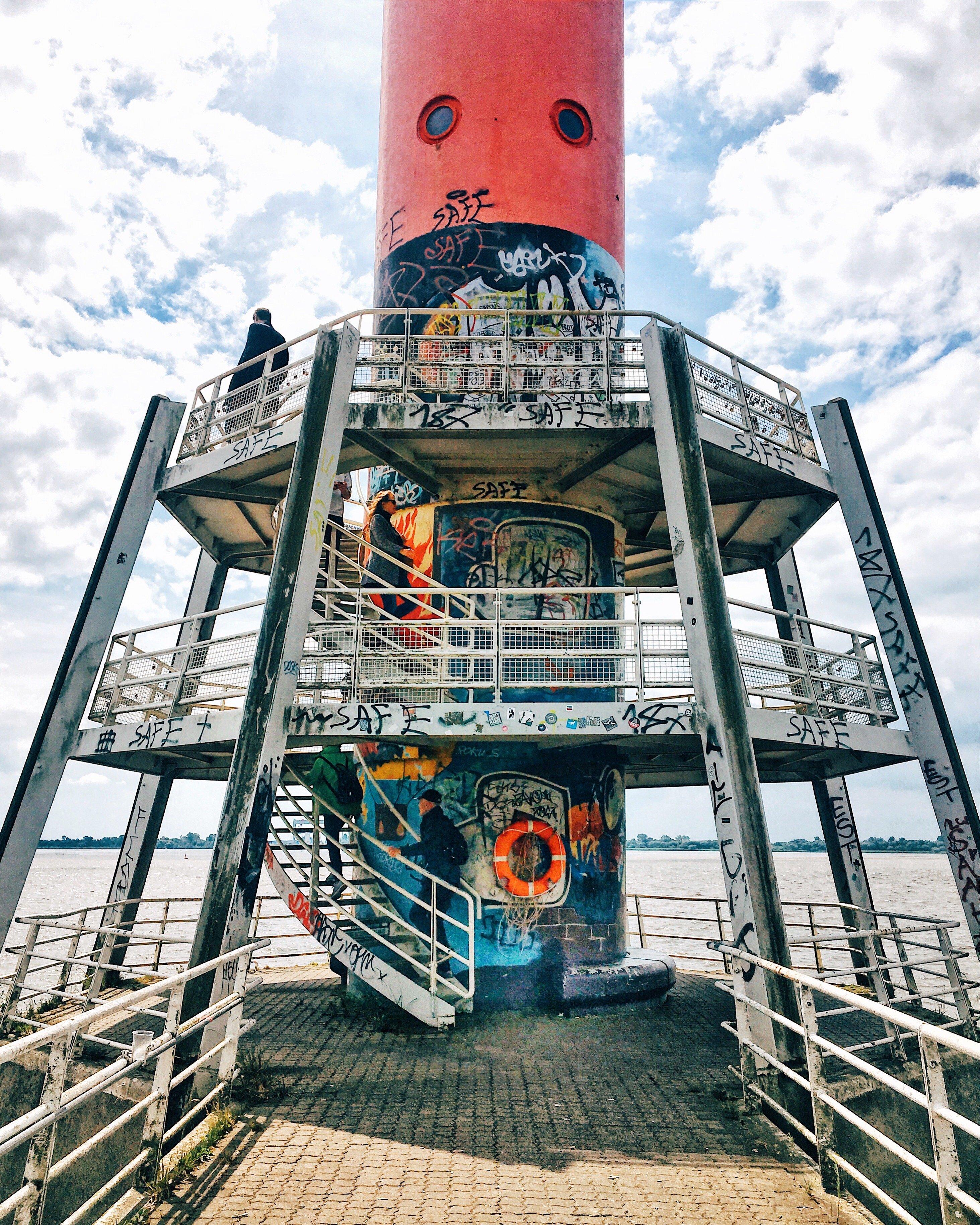 Leuchtturm von Blankenese: Urlaub wie am Meer, perfekte Staycation in Hamburg Frau Elbvilles Hamburg Companion