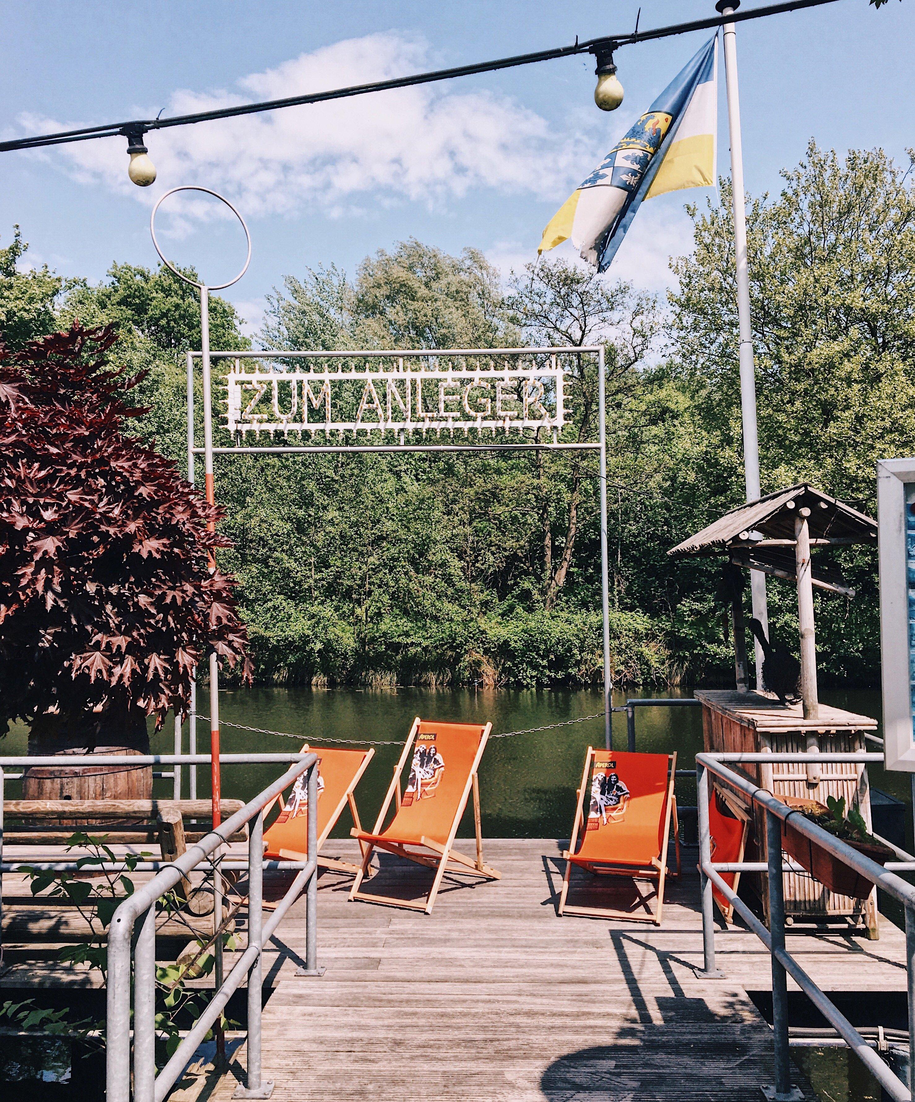Staycation Hamburg: Zum Anleger, Wilhelmsburg - wo Frau Elbville Urlaub macht