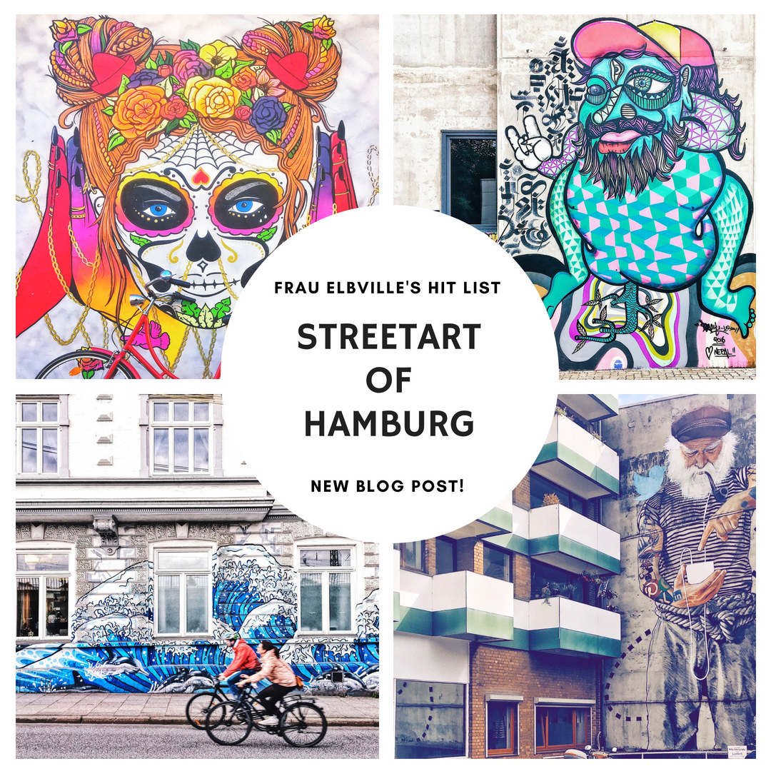 streetart hamburg: Frau Elbvilles Hitliste