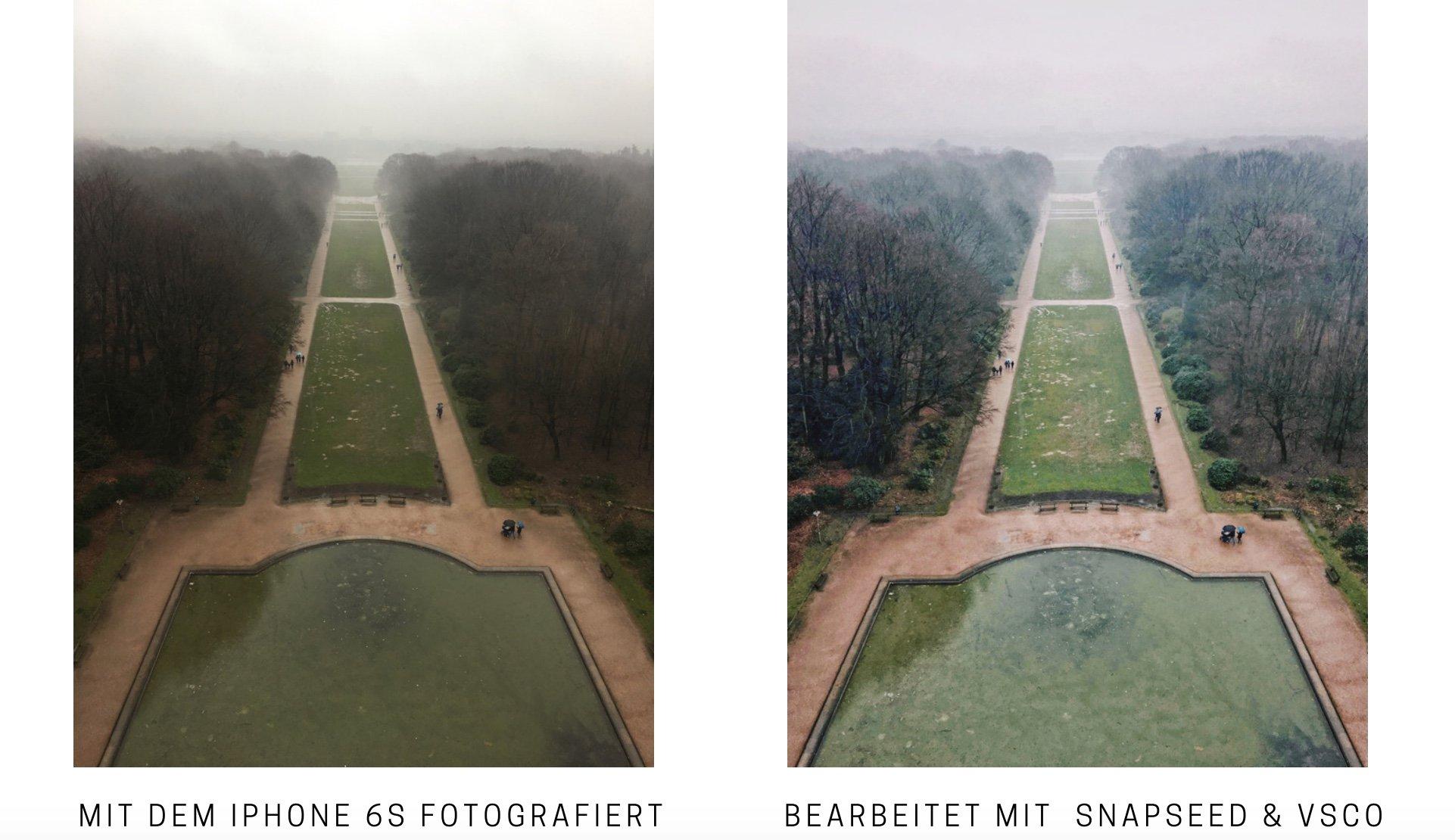 Fotografieren mit dem Smartphone Tipps & Tricks mit Snapseed und VSCO