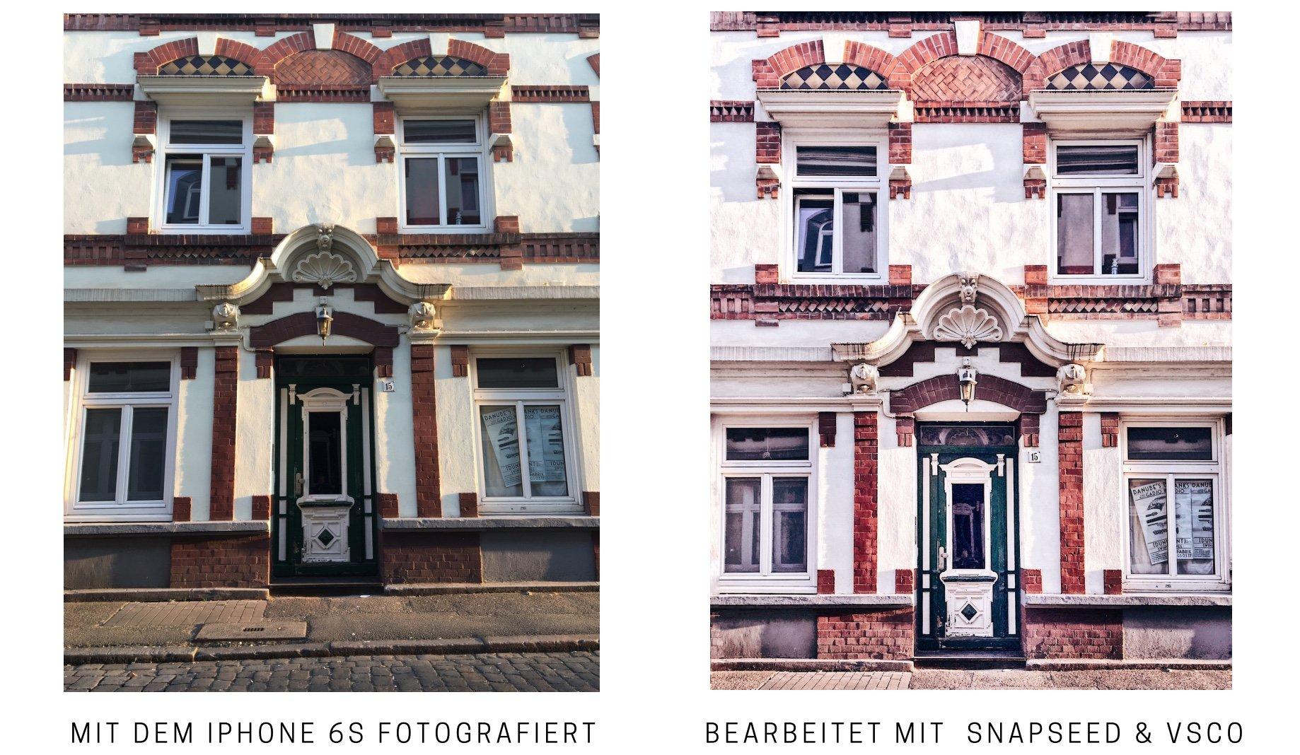 Fotografieren mit dem Smartphone: Begradien von Architektur