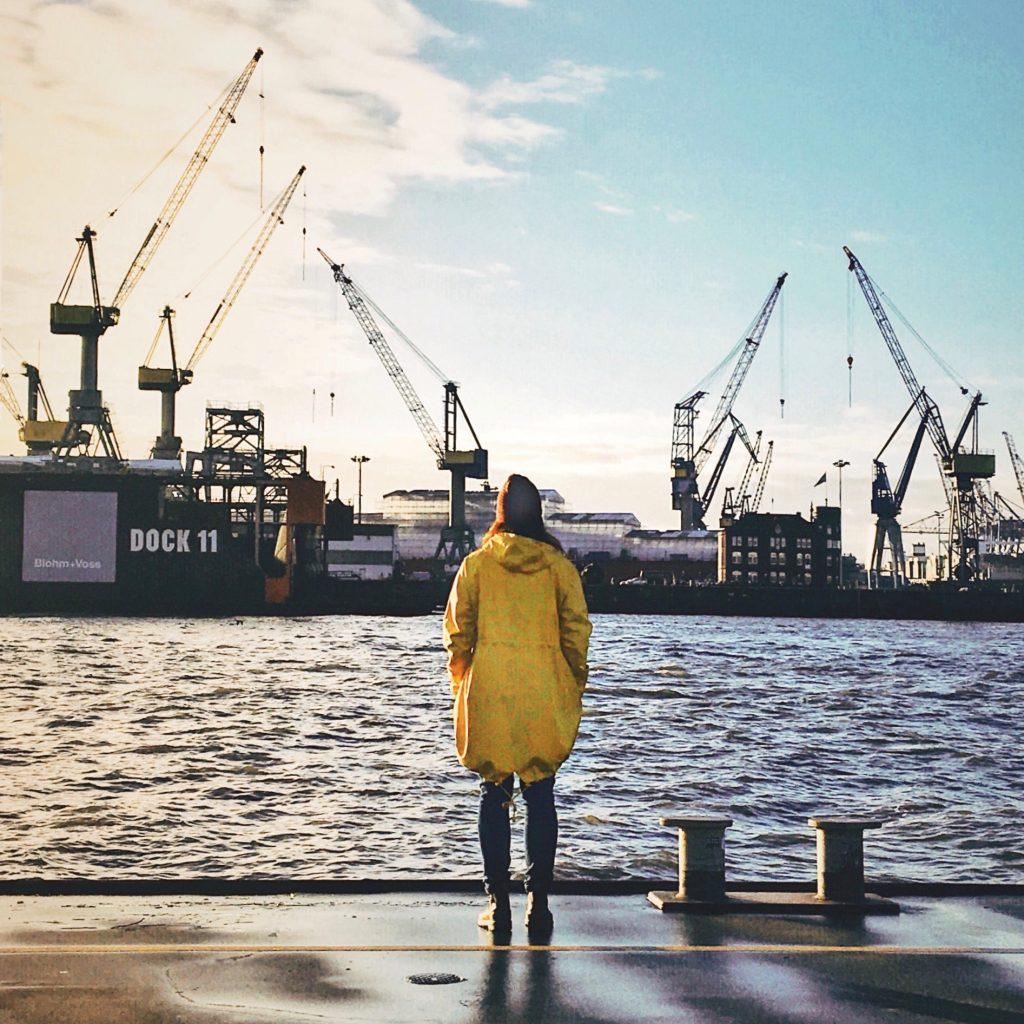 Hamburgs Große Elbstraße: der Fischmarkt ist direkt um die Ecke