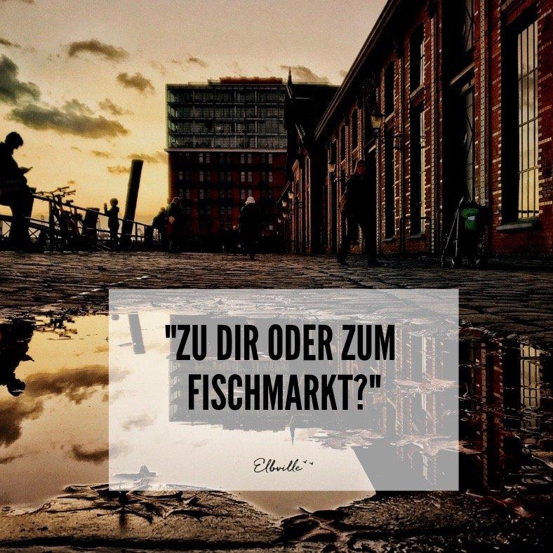 Die besten Hamburg Sprüche von Frau Elbville auf Hamburg Companion