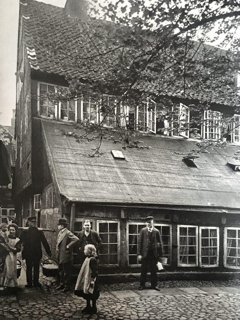 Auch das Dammtor gehörte früher zu Hamburgs Gängeviertel