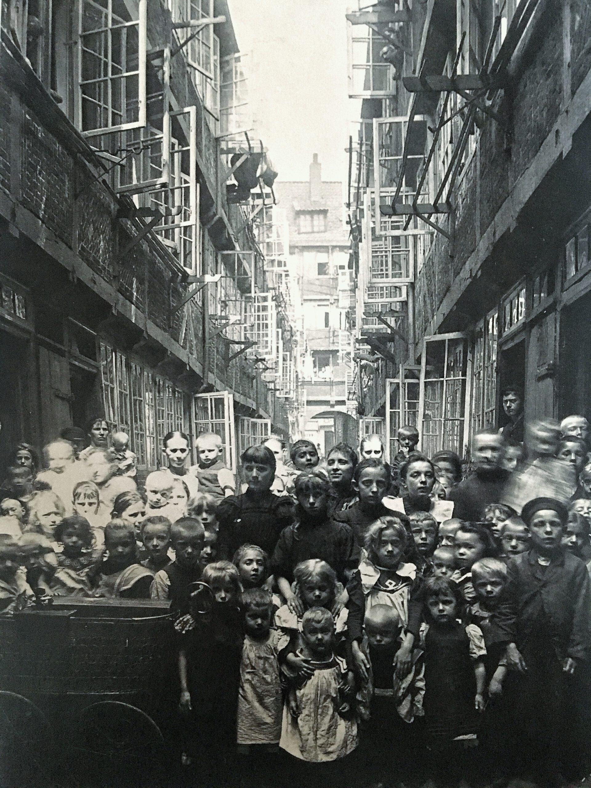 Hamburgs Gängeviertel: Massenauflauf für Fotos