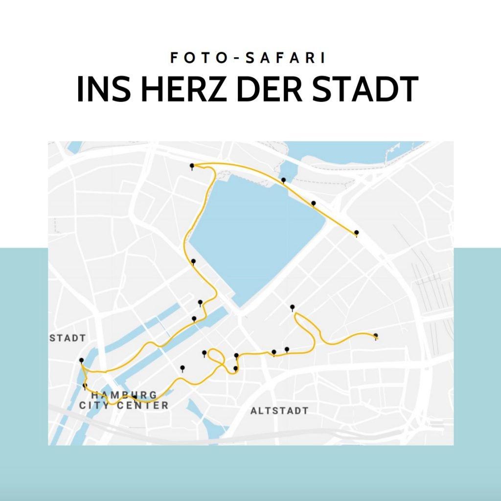 Foto-Tour durch die Hamburger Innenstadt mit tollen Foto Locations um die Alster