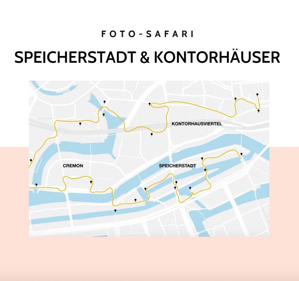 Speicherstadt & Kontrohausviertel Foto-Tour Foto-Safari Fotospots