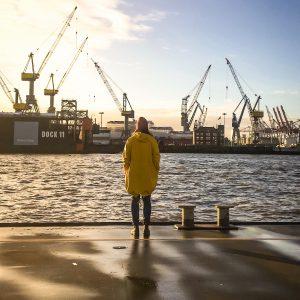 Frau Elbville in Hamburg am Hafen gibt Tipps für Hamburg