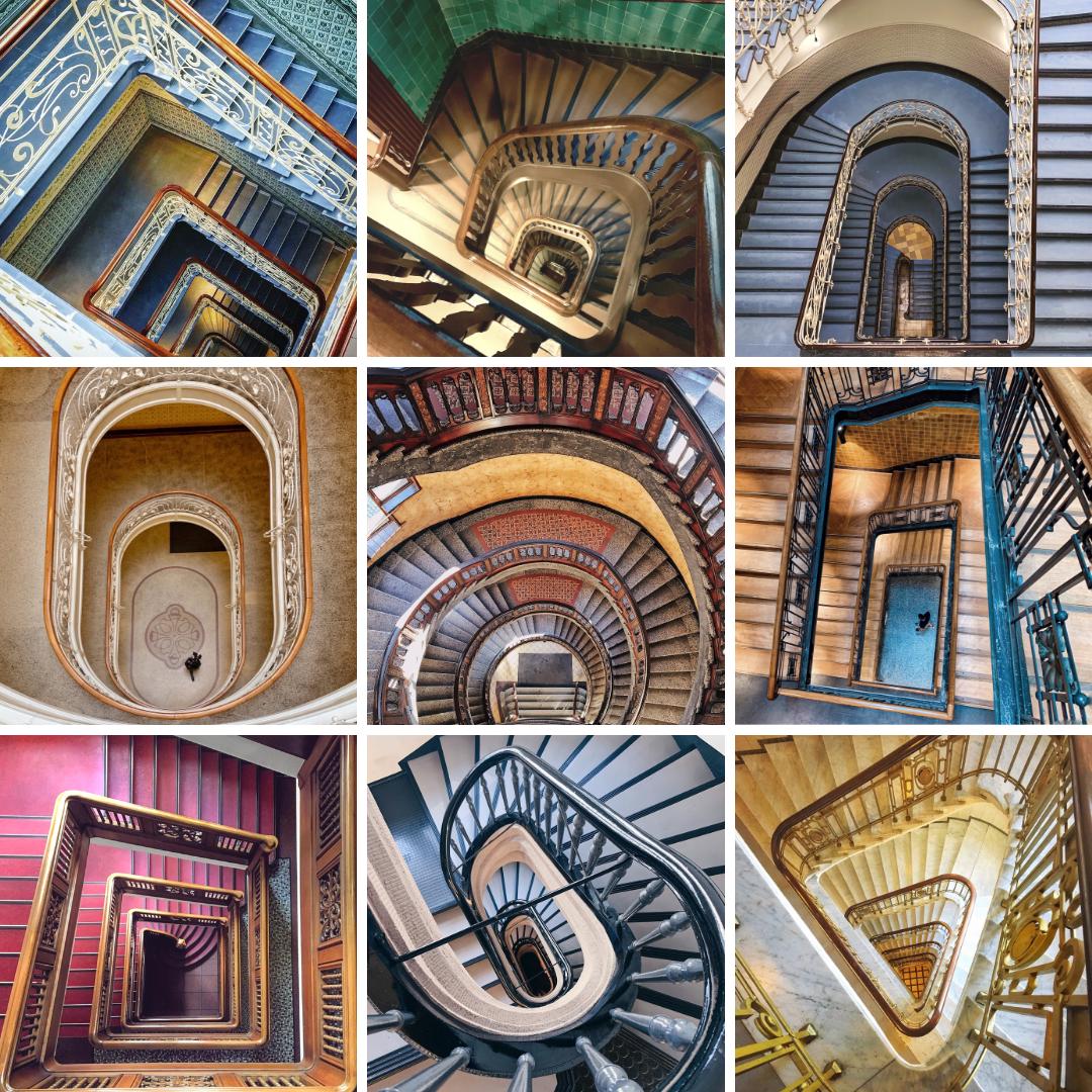 9 Treppenhäuser In Hamburg