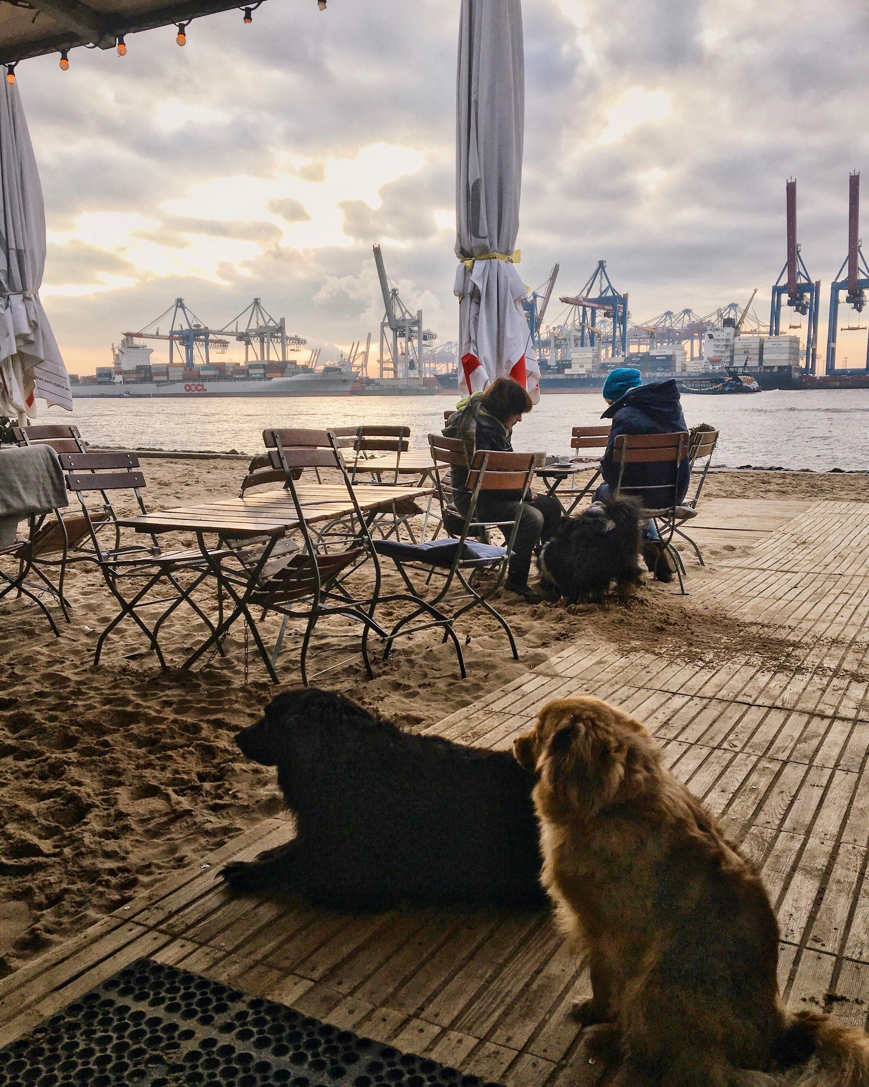 Strandkiosk Övelgönne Hamburg Fotospot