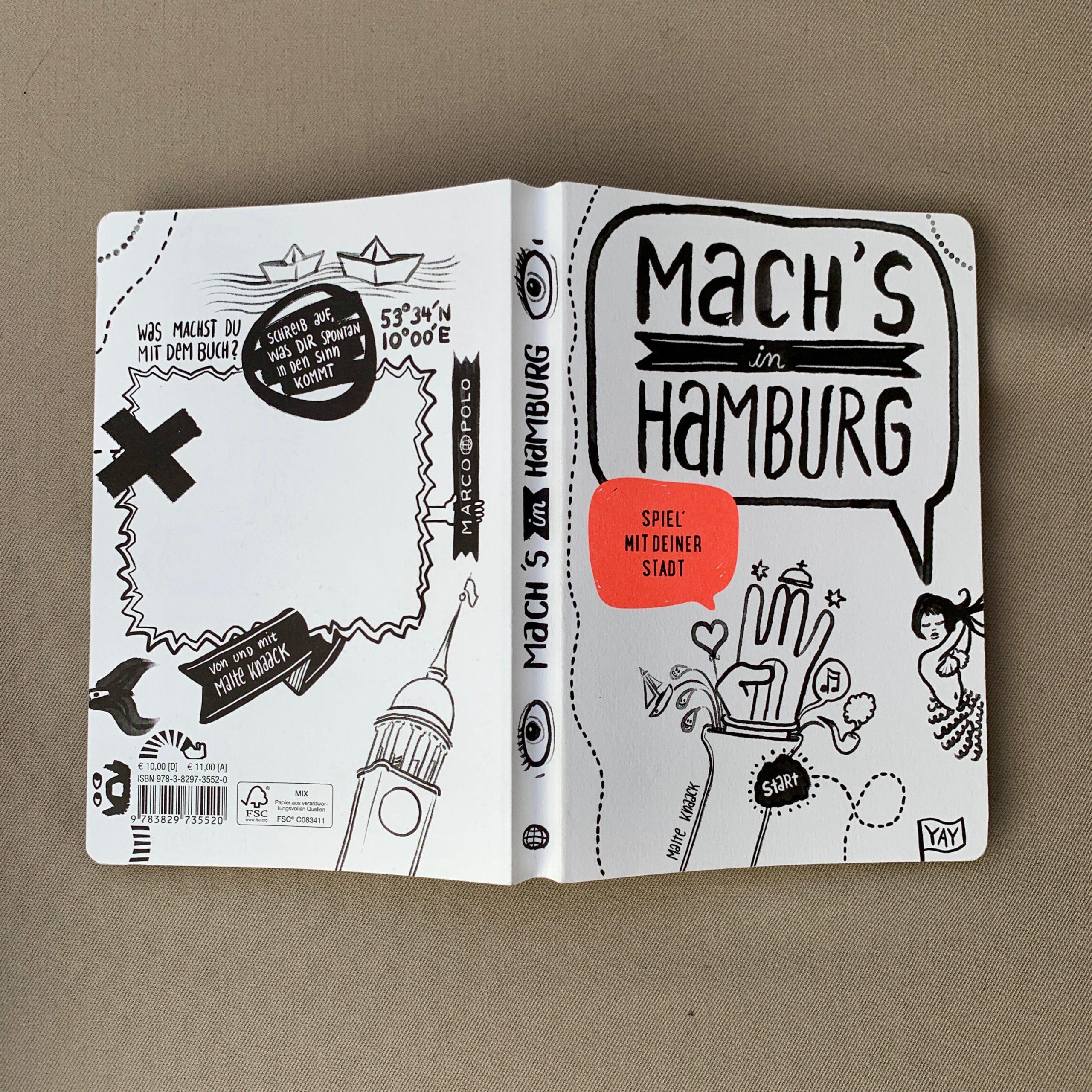 Cover: Malte Knaack, Mach's mit Hamburg