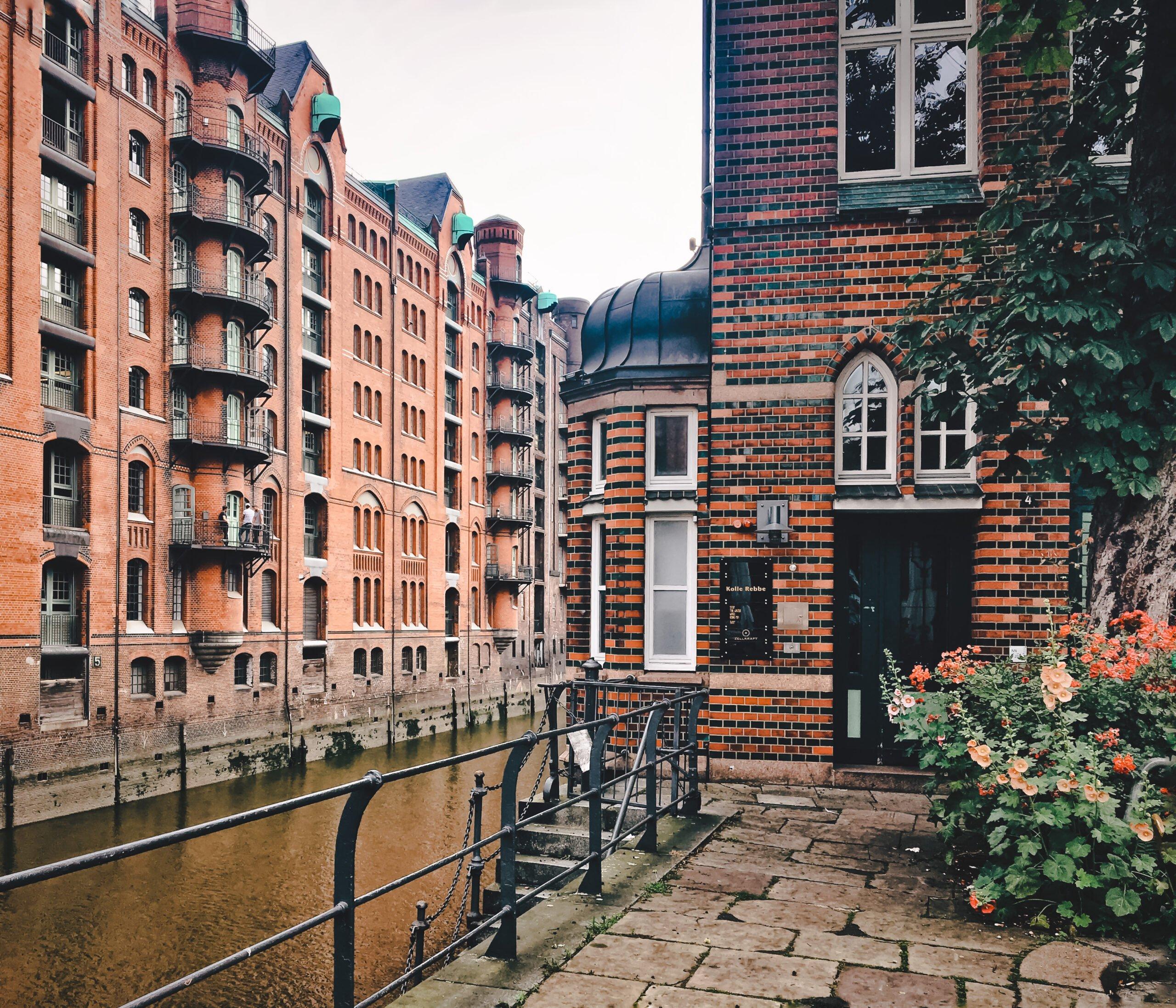 Speicherstadt Hamburg Wasserschloss