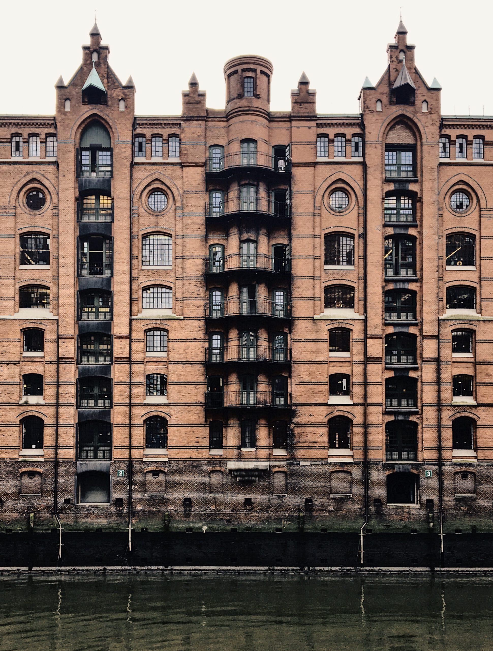 Hamburgs Speicherstadt: Backstein Architektur