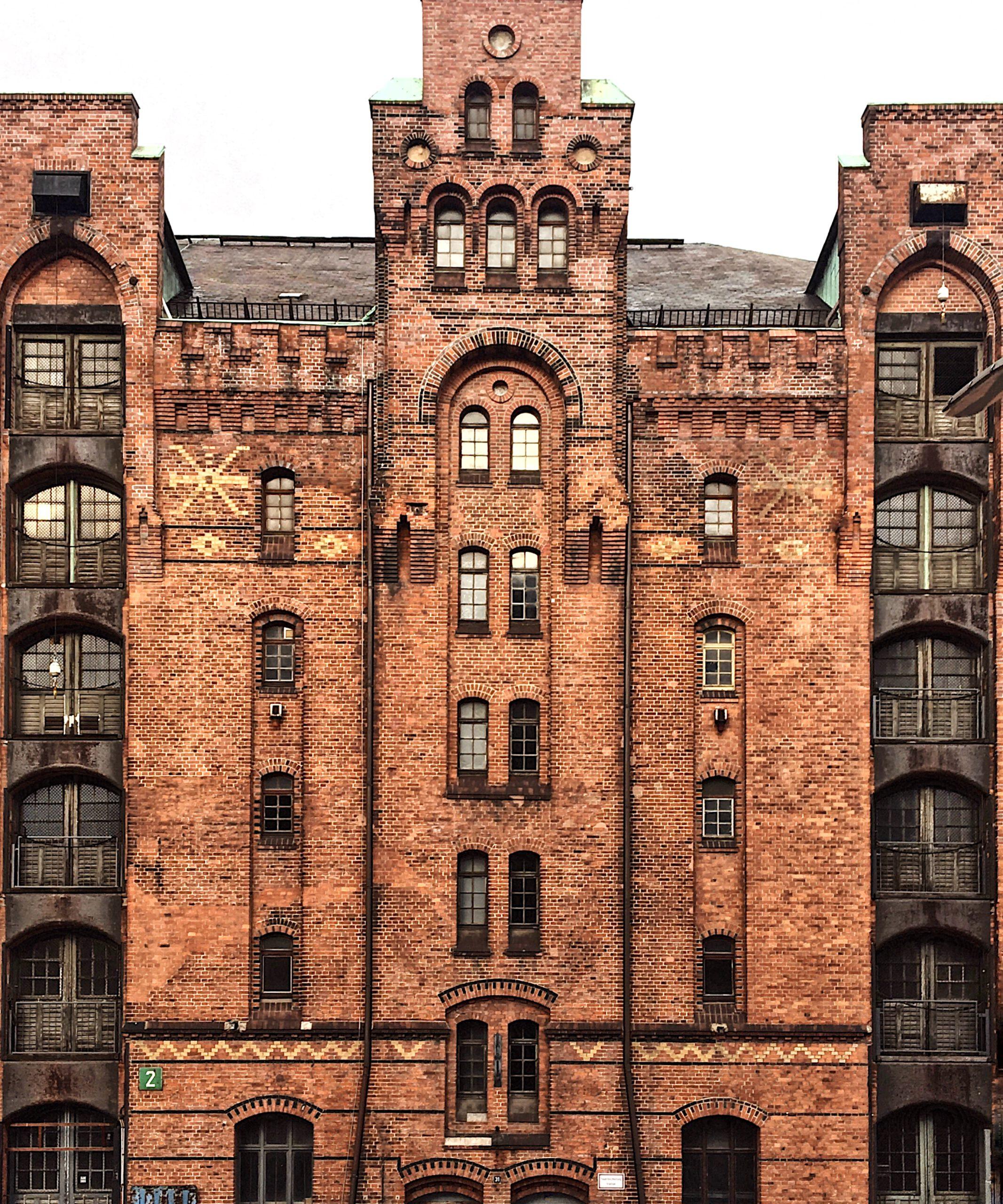 Backsteinfassade Speicherstadt Hamburg
