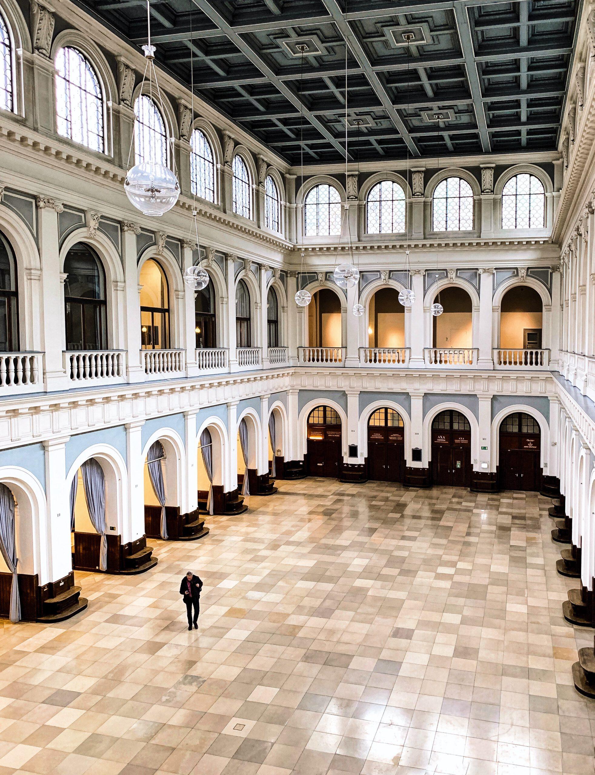 Handelskammer Hamburg: Börsensaal