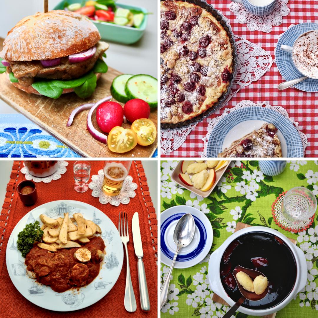 Fofftein: Rundstück Franzbrötchenkuchen Currywurst Soße Fliederbeersuppe Mit Klüten