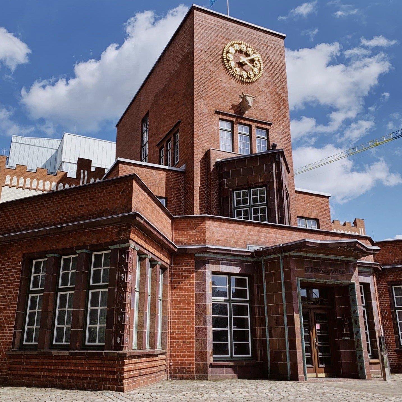 Margarinefabrik Voss Hamburg Backstein Architektur Expressionismus
